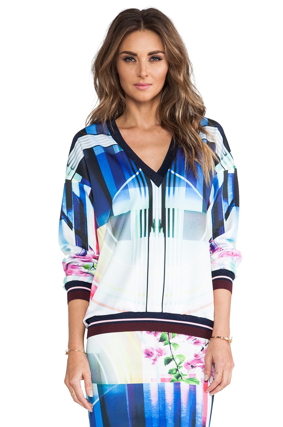Clover Canyon Hollywood Bowl Sweatshirt in Multi