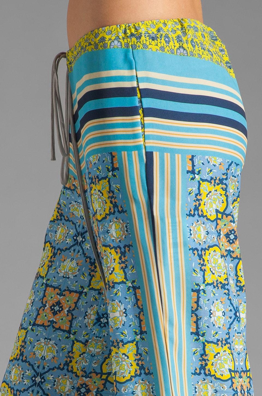 Clover Canyon Art Deco Tiles Wide Leg Pants in Multi