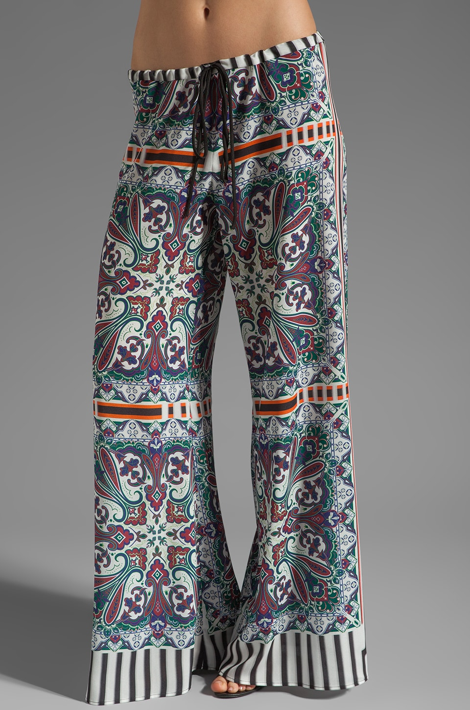 Clover Canyon Paisley Road Pant in Multi