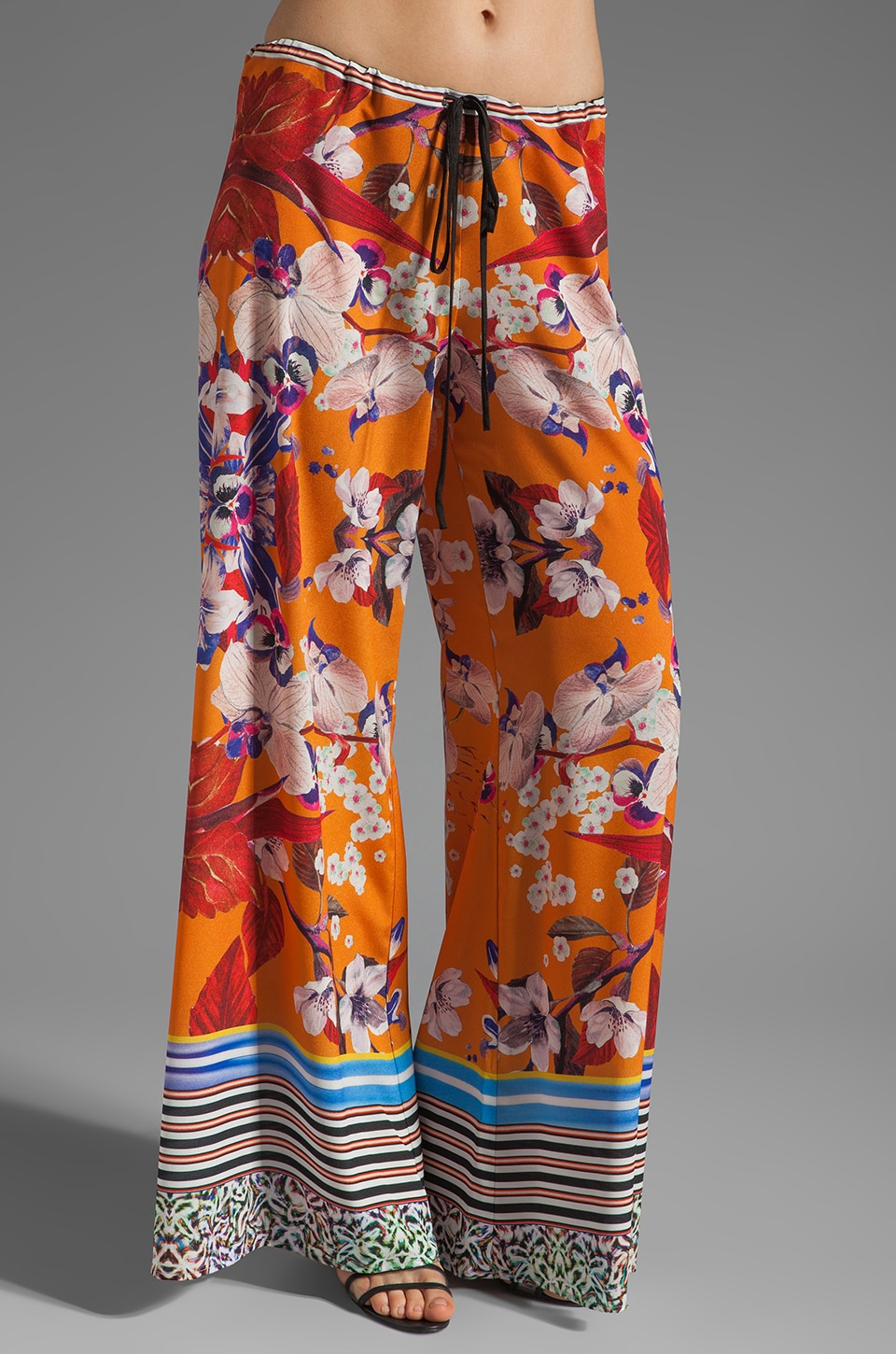 Clover Canyon Prism Orchid Pant in Orange
