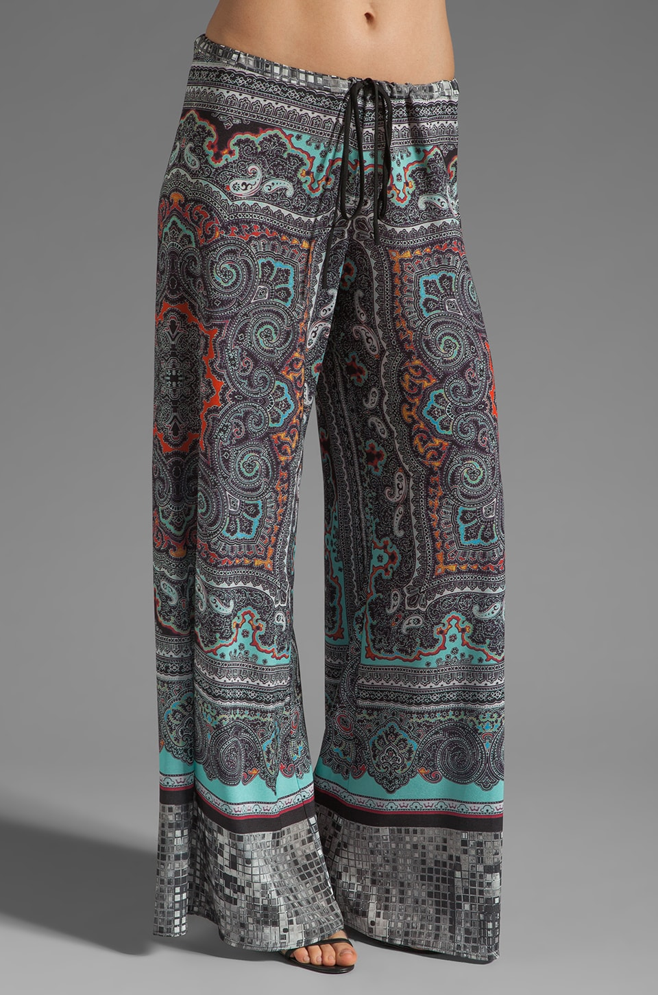 Clover Canyon Paisley Disco Pant in Multi