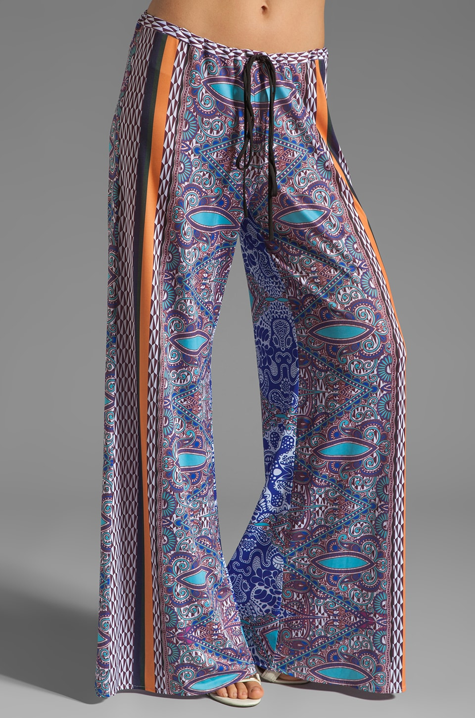 Clover Canyon Baja Border Liquid Jersey Pant in Multi