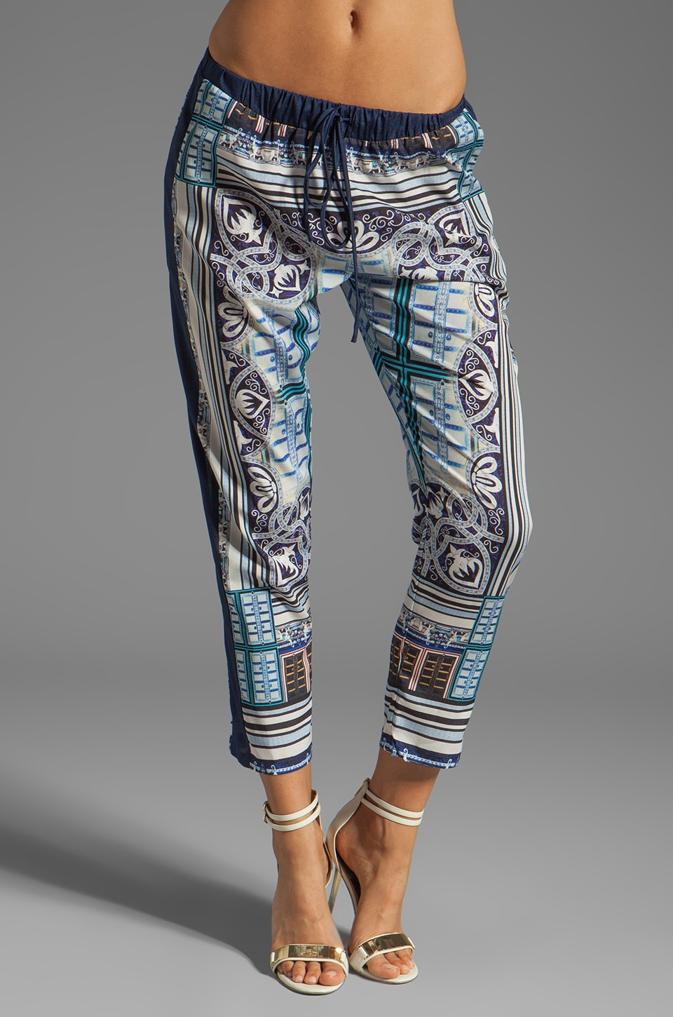 Clover Canyon Ornate Filagree Pant in Multi