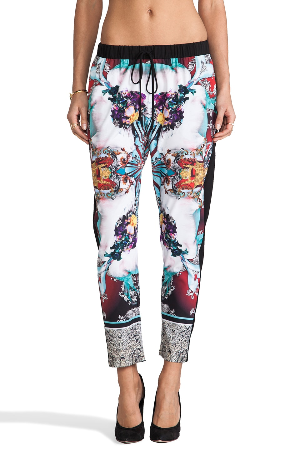 Clover Canyon Royal Horses Pants in Multi