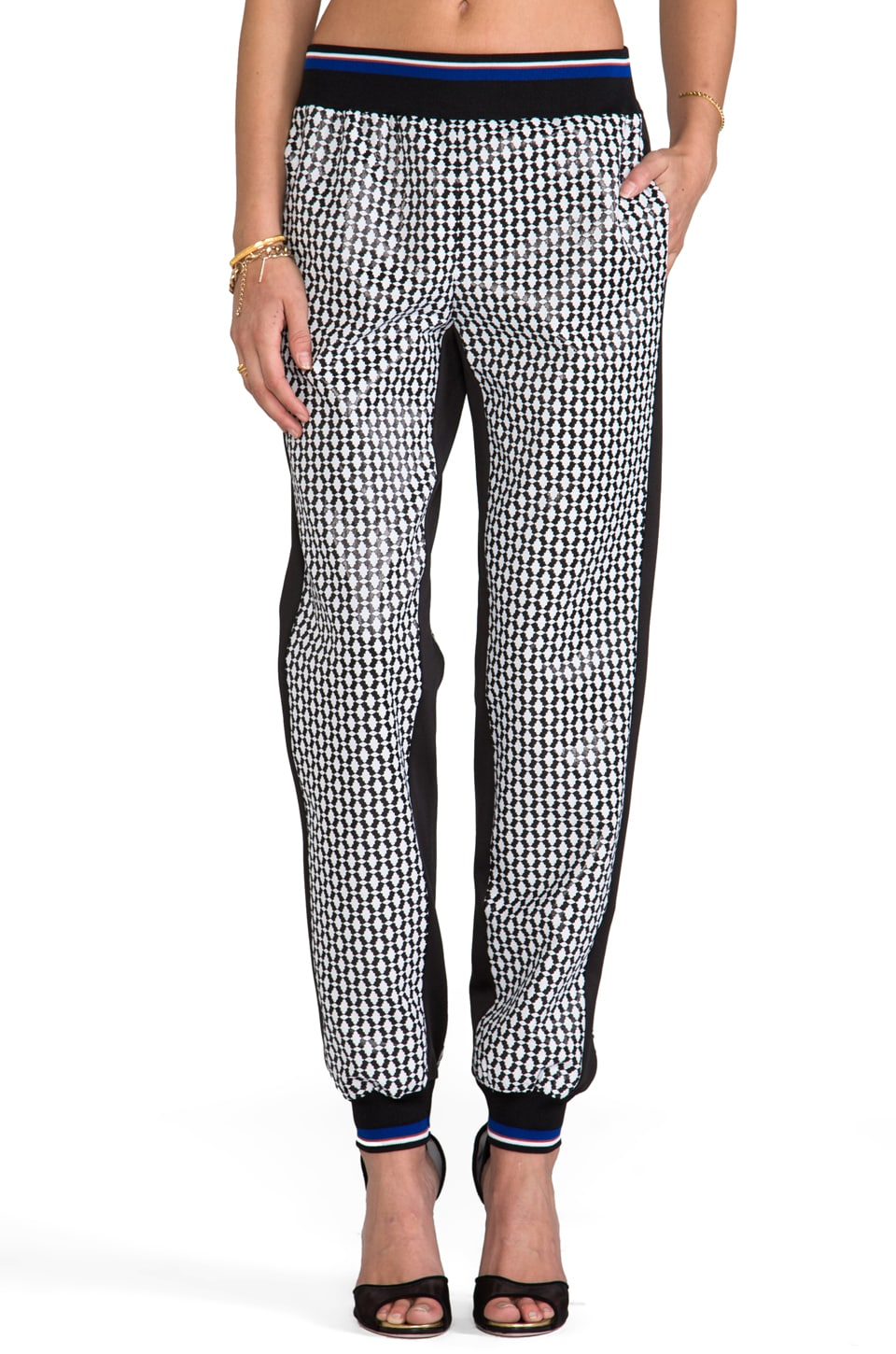 Clover Canyon Pineapple Jacquard Pants in Multi