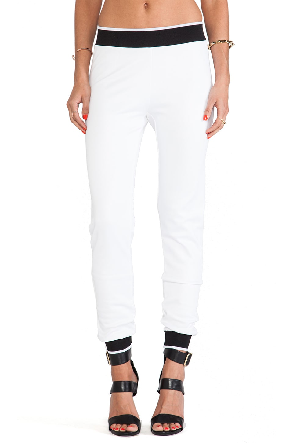 Clover Canyon Sweat Pant in White