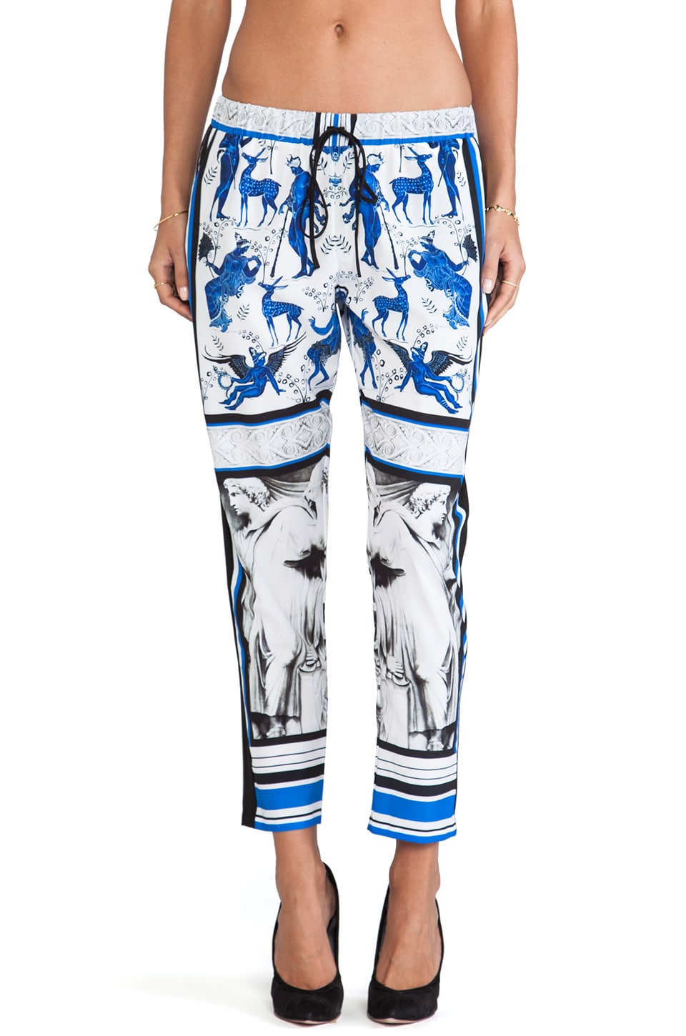 Clover Canyon Marble Party Pant in Multi