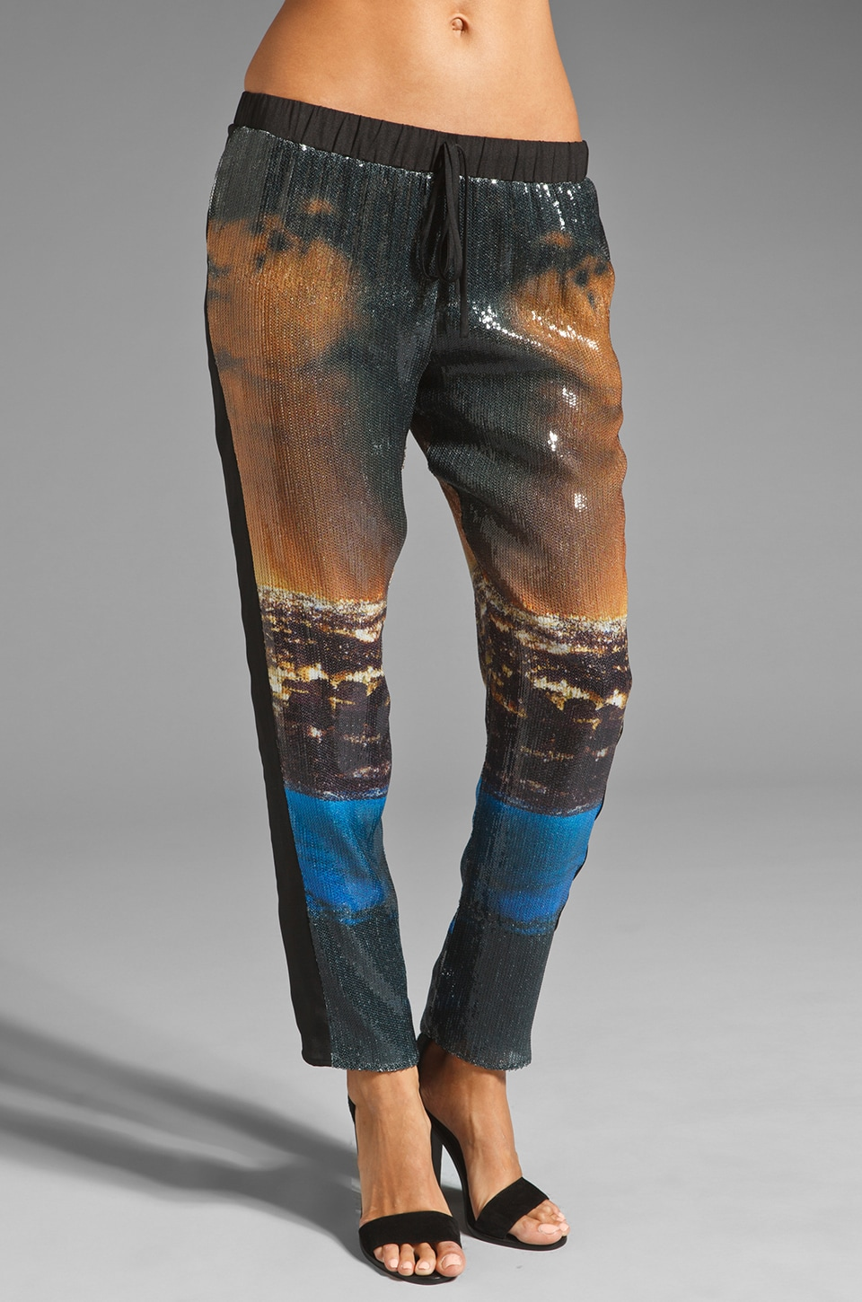 Clover Canyon City Lights Sequin Pant in Multi