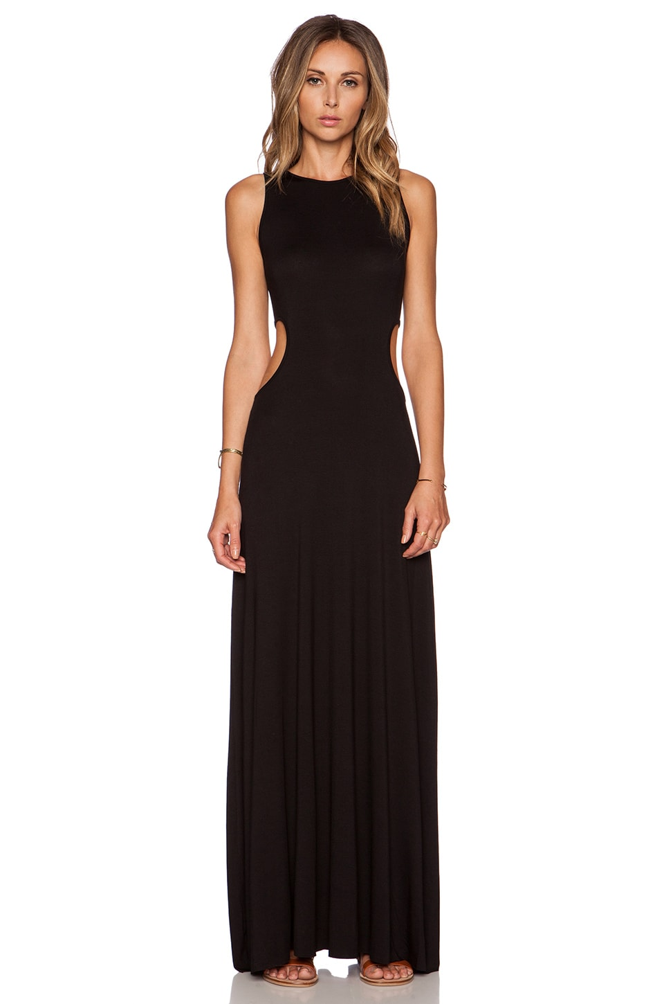 Clayton Holly Dress in Black