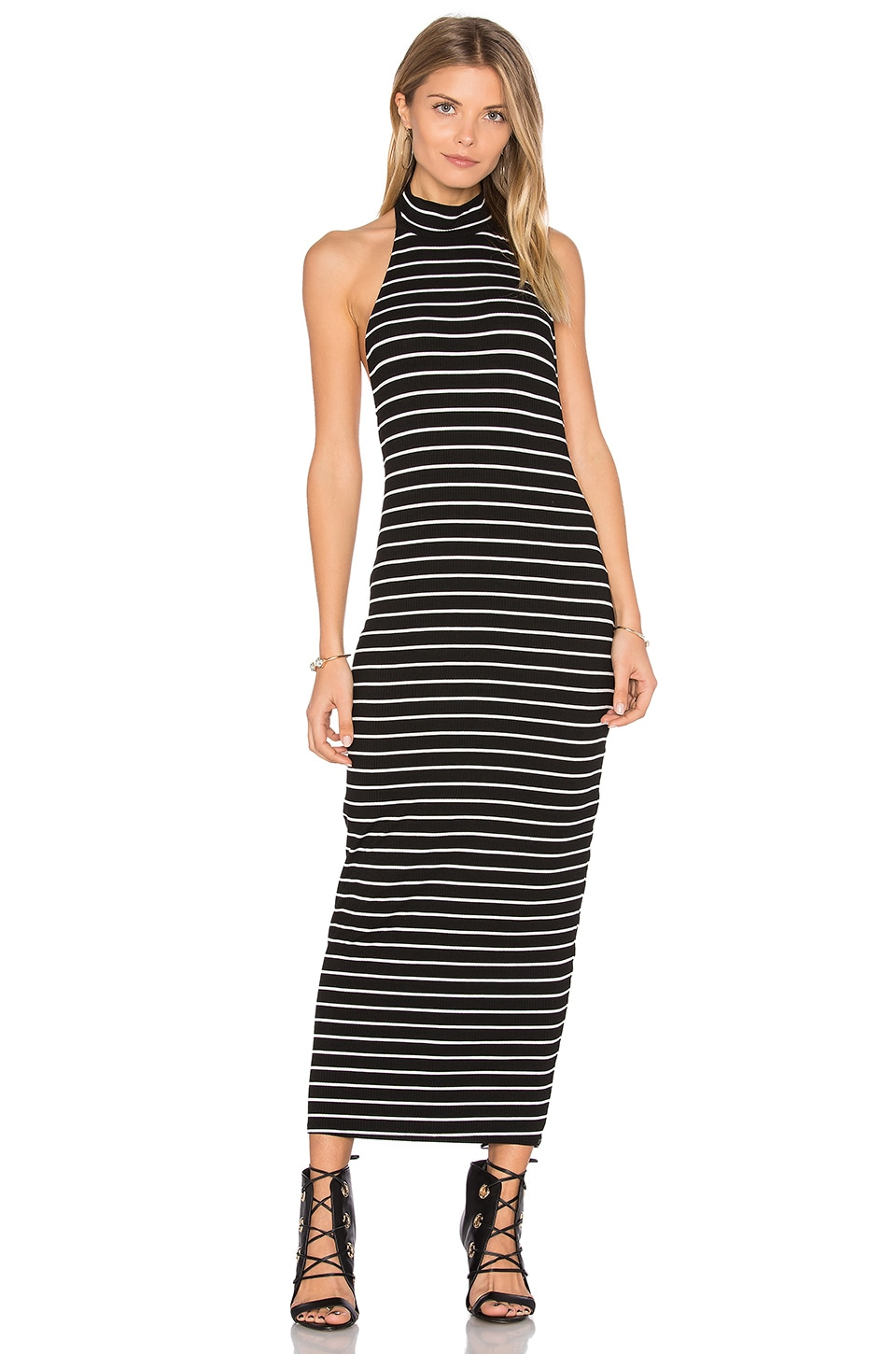 Clayton Pou Dress in Chelsea Stripe
