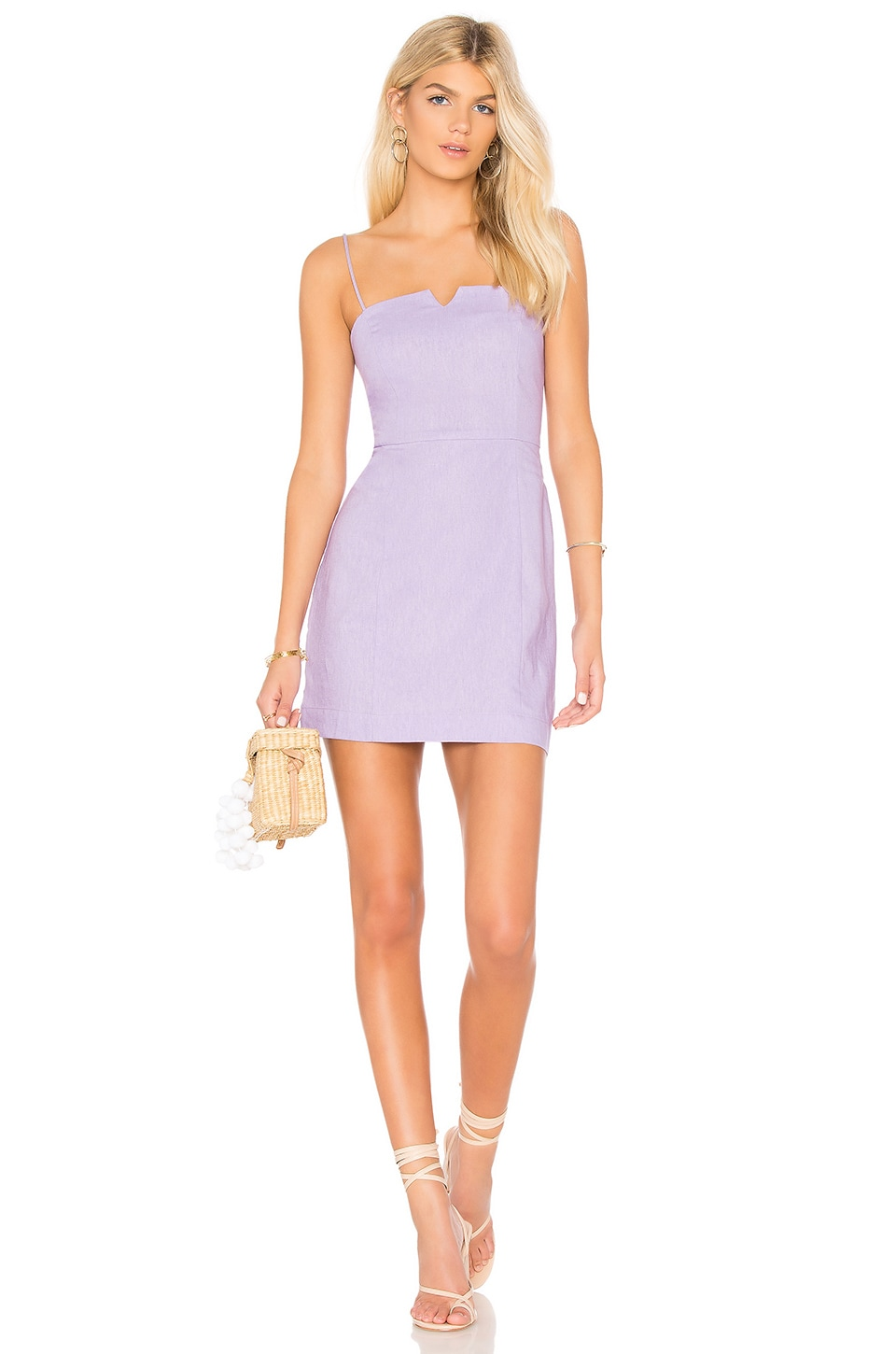 Clayton Carol Dress in Lilac