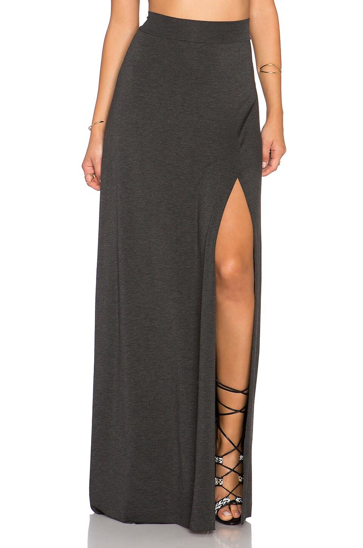 Clayton Sarah Maxi Skirt in Charcoal