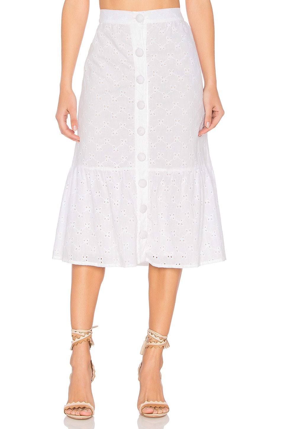Vine Eyelet Anita Skirt by Clayton