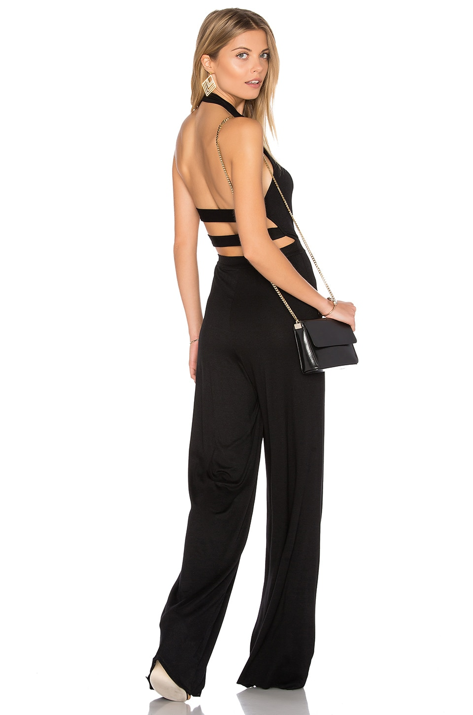 Clayton Monroe Jumpsuit in Black