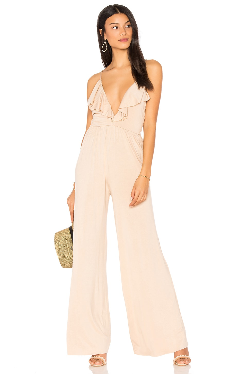 Clayton Sonja Jumpsuit in Bare