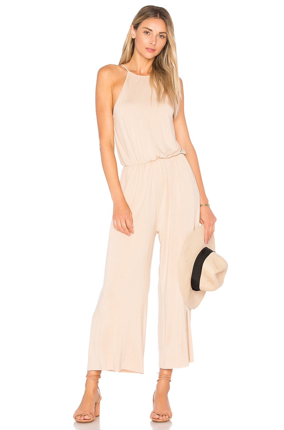 Marley Cropped Jumpsuit by Clayton