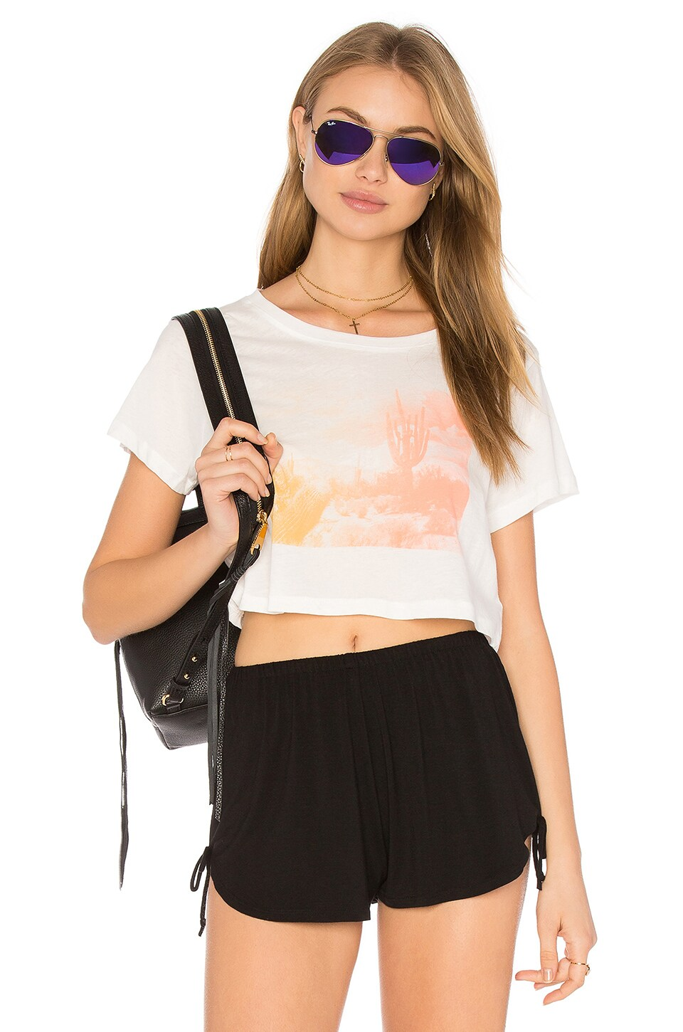 x REVOLVE Desert Cropped Tee by Clayton