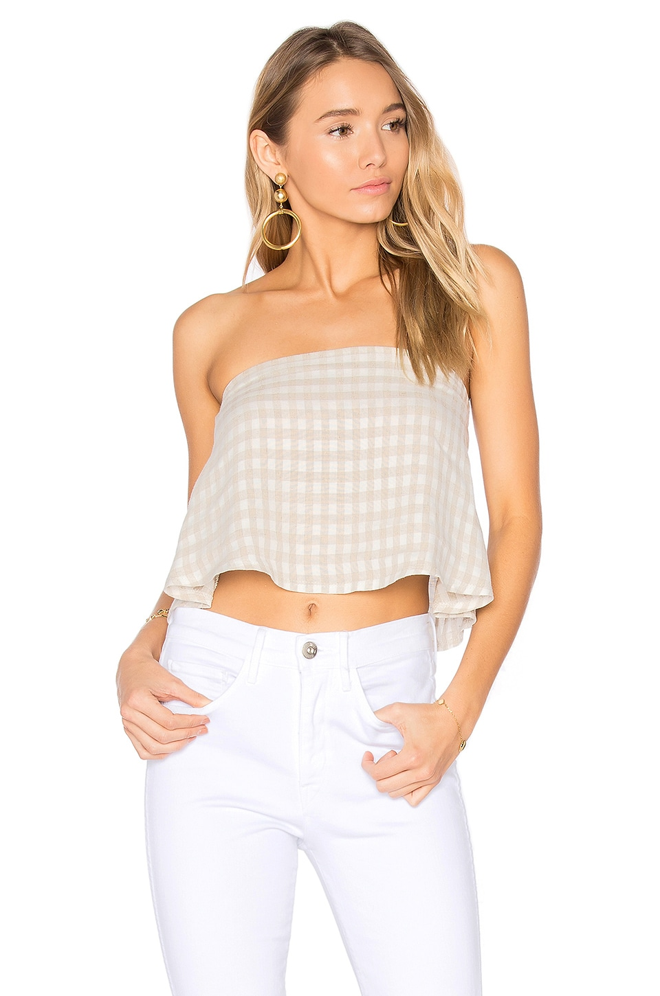 Clayton Gingham Joy Top in Gingham