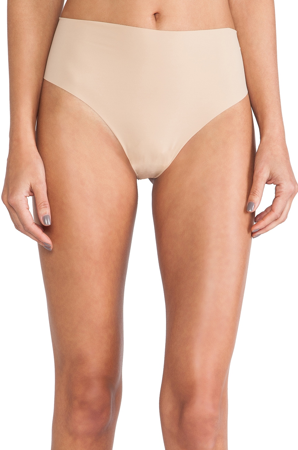 Commando High Rise Thong in True Nude