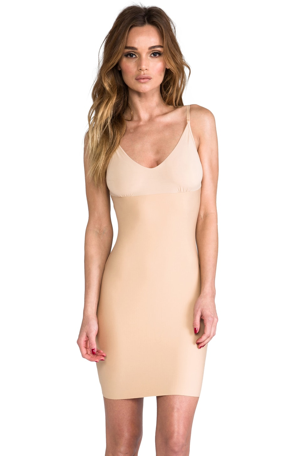 Commando Control Mini Slip in True Nude
