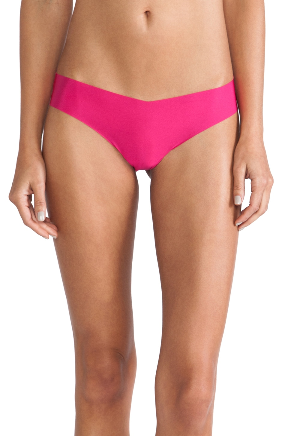 Commando Thong in Hot Pink