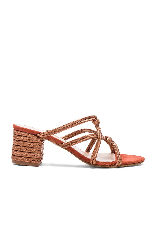 Carmelinas Ibiza Heel in Brick