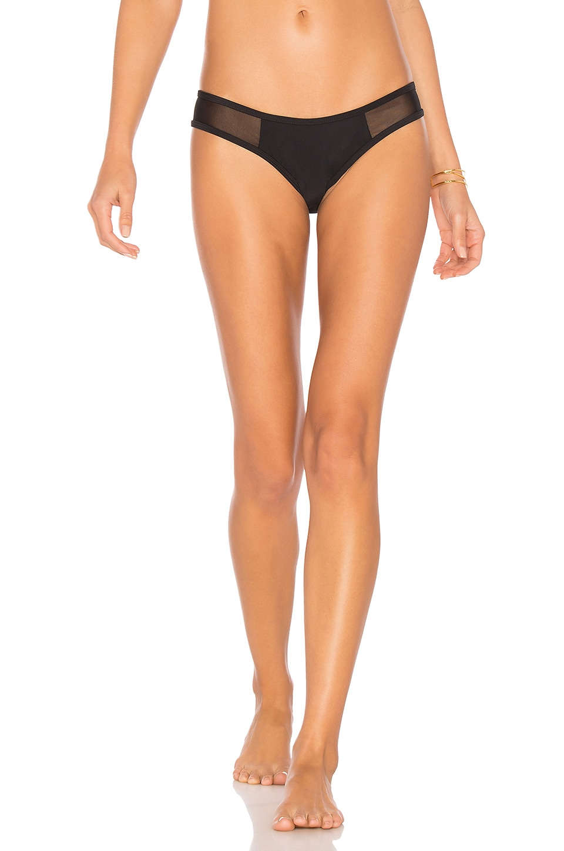 CHROMAT Racer Bikini Bottom in Black