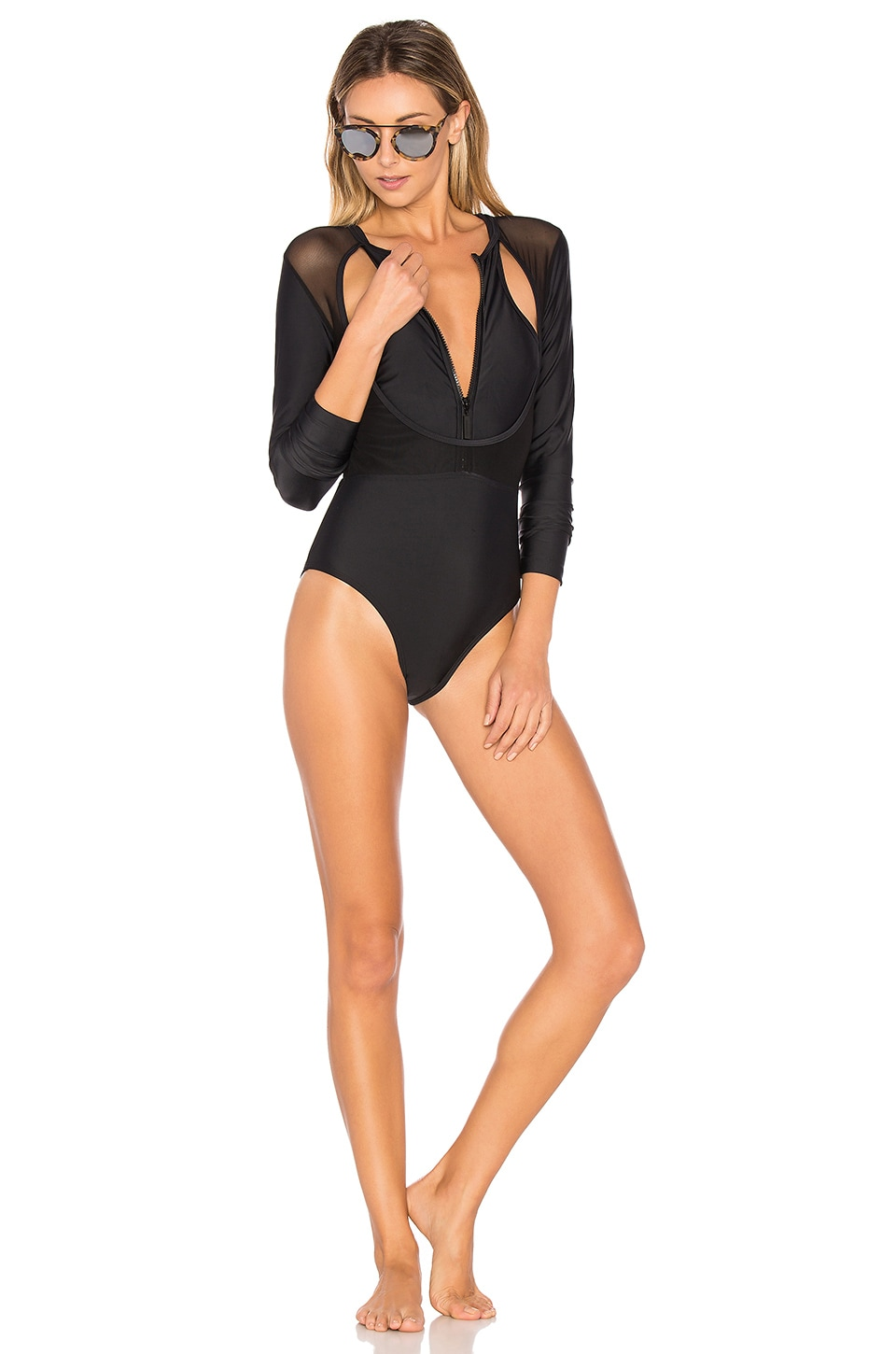 CHROMAT Sigourney One Piece in Black