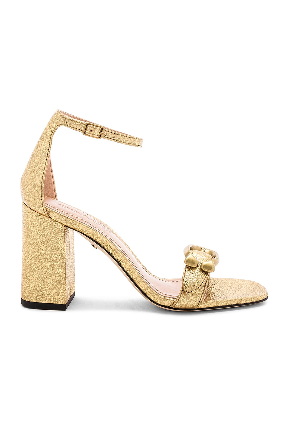 Coach 1941 Maya Sandal in Gold
