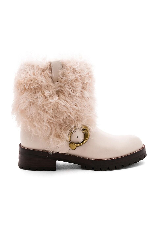 Leighton Fur Bootie