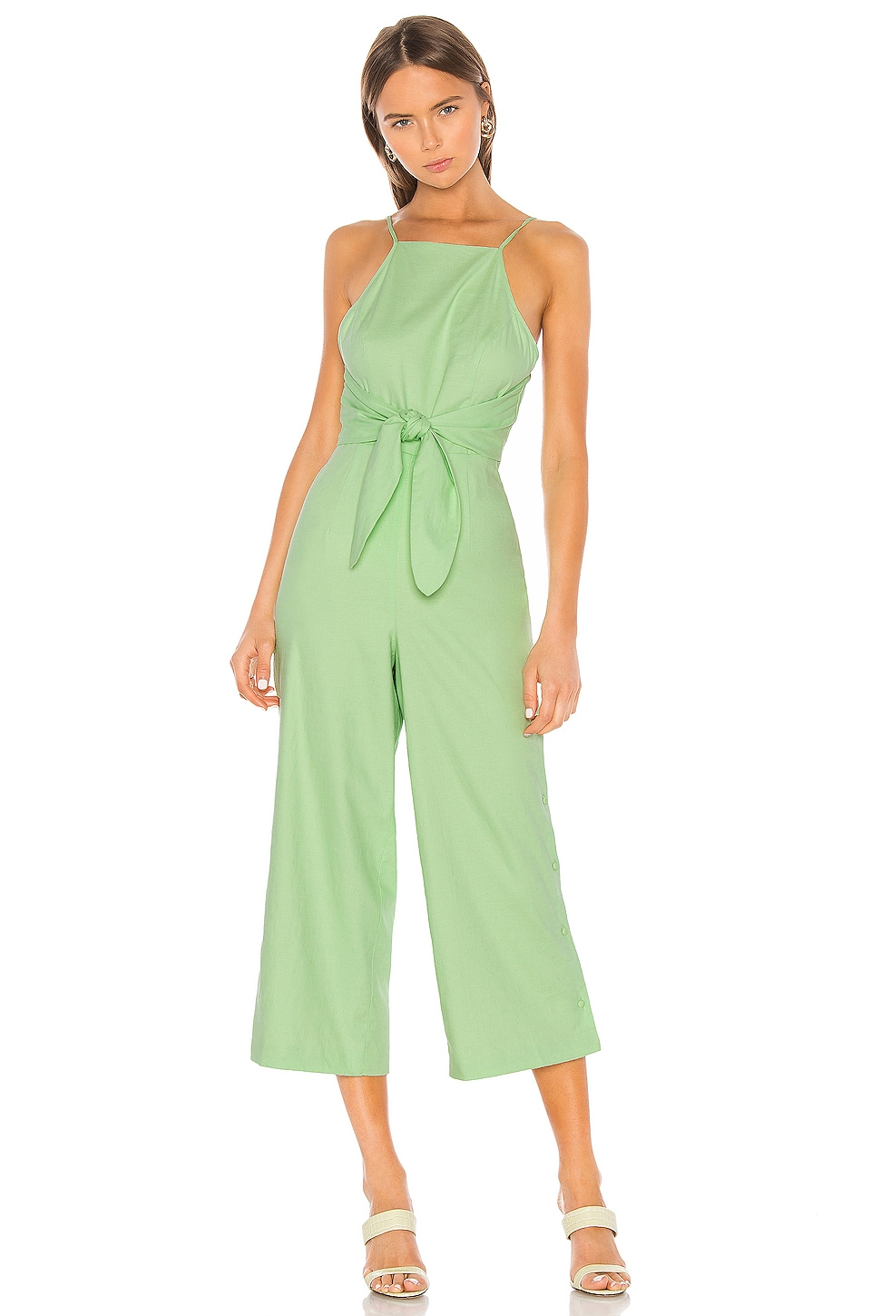 Camila Coelho Micah Jumpsuit in Soft Mint