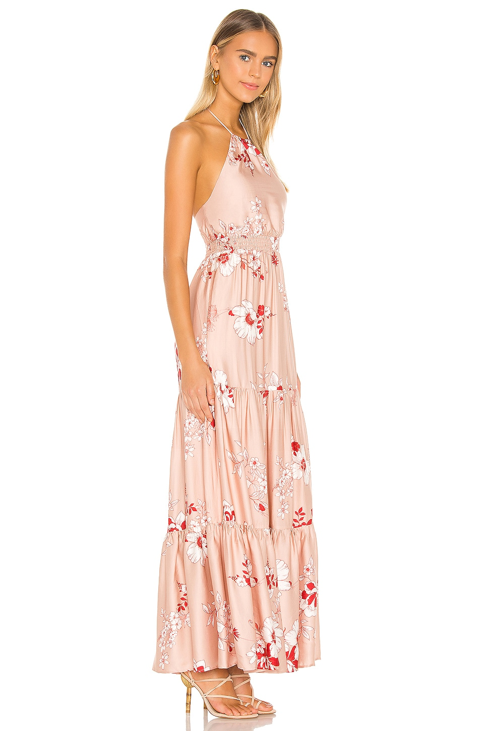 Pedro Maxi Dress, view 2, click to view large image.
