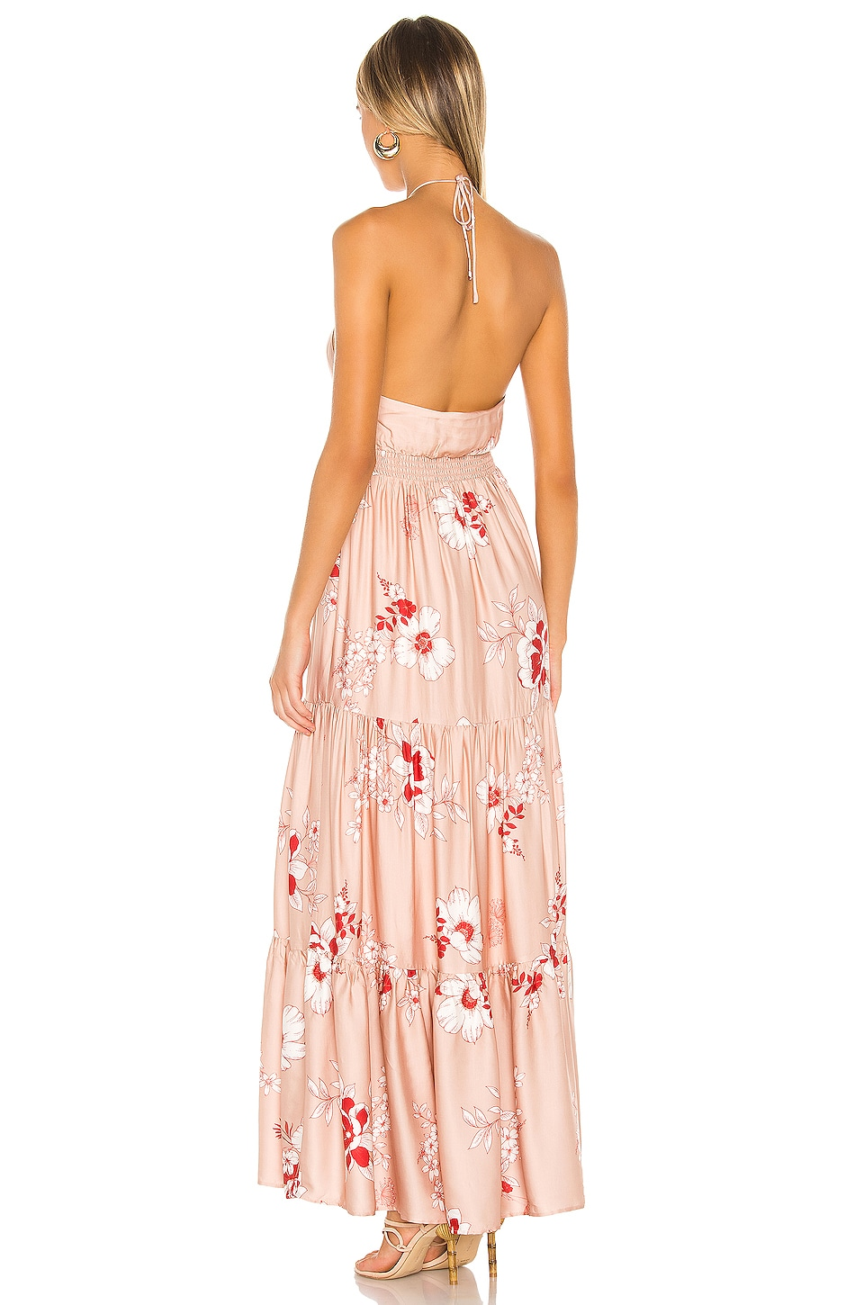 Pedro Maxi Dress, view 3, click to view large image.