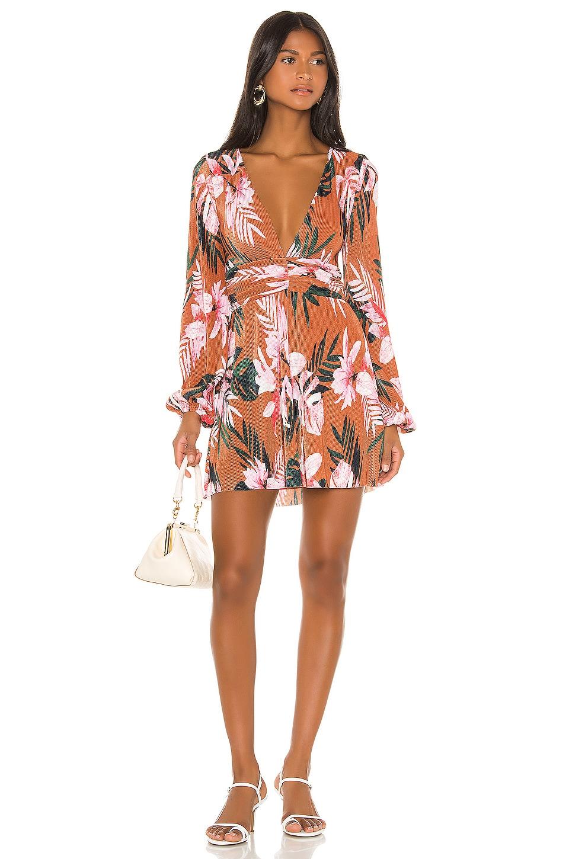 Camila Coelho Jade Dress in Floral Tropics
