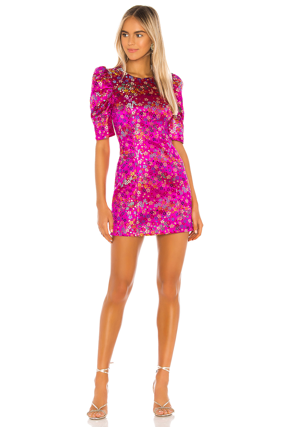 Camila Coelho Julinha Mini Dress in Multi Floral