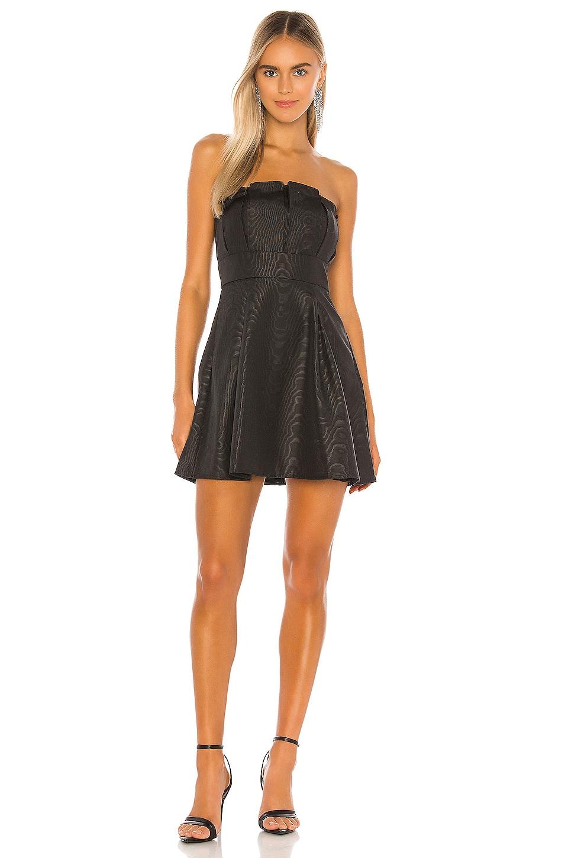 Camila Coelho Mariazinha Mini Dress in Black