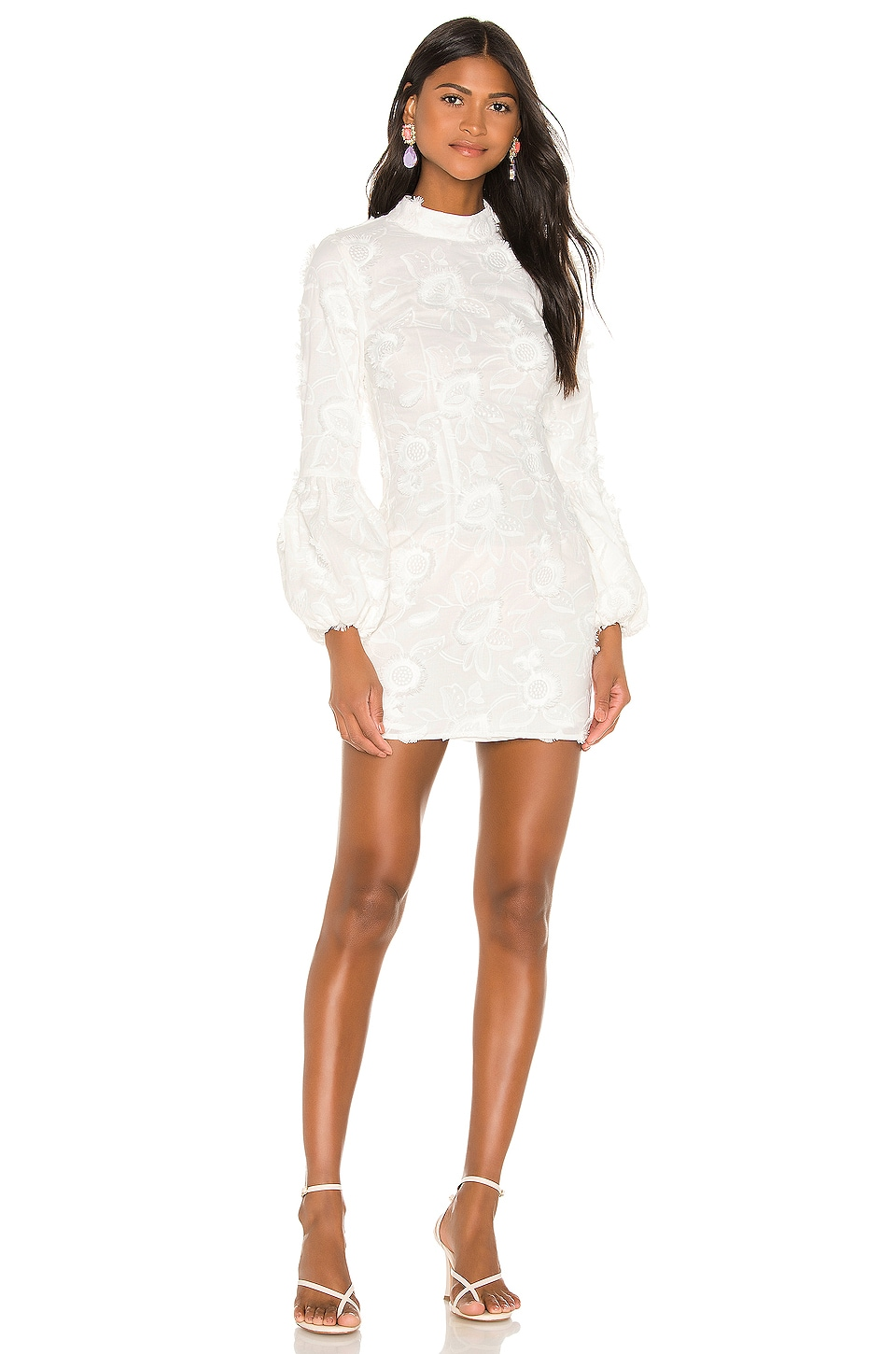 Camila Coelho Francesca Mini Dress in White
