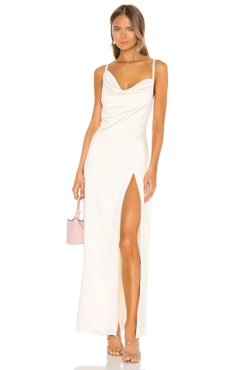 Camila Coelho Reyna Maxi Dress In Pearl White Revolve Find long maxi dresses perfect for going out, weddings, and parties. usd