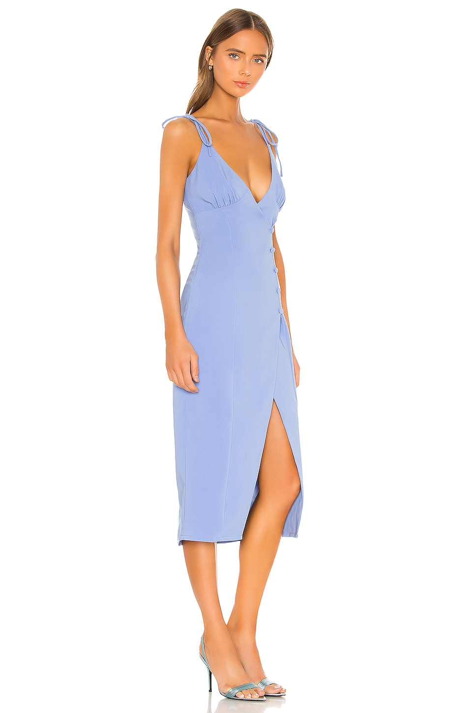 Aaliyah Midi Dress, view 2, click to view large image.