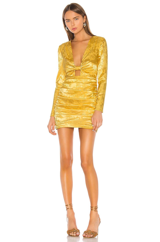 Camila Coelho Olivia Dress in Golden Yellow