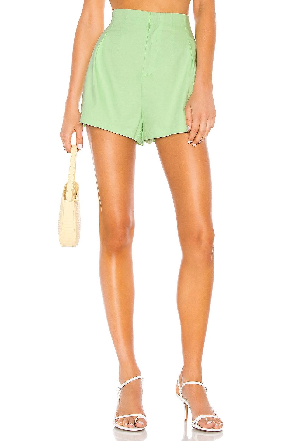 Camila Coelho Hayden Short in Soft Mint