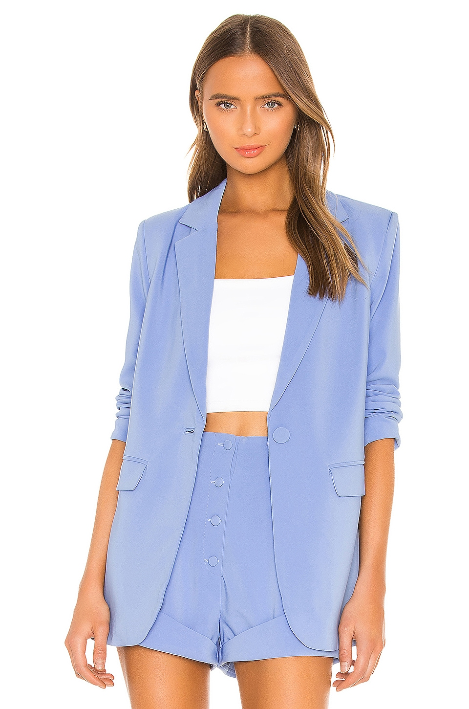 Arielle Blazer by Camila Coelho, available on revolve.com for $178 Camila Coelho Outerwear Exact Product