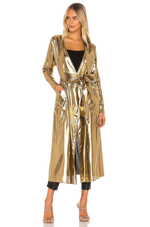 Camila Coelho Angelica Robe in Gold
