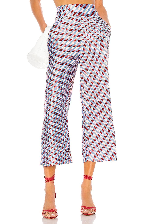 Camila Coelho Anya Crop Pant in Candy Stripe