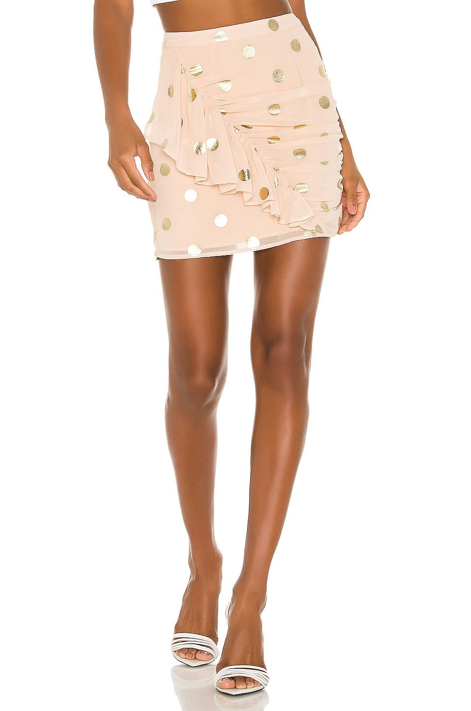 Kaylee Mini Skirt by Camila-Coelho, available on revolve.com for $145 Camila Coelho Skirt Exact Product