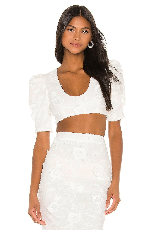 Camila Coelho Marcella Top in White