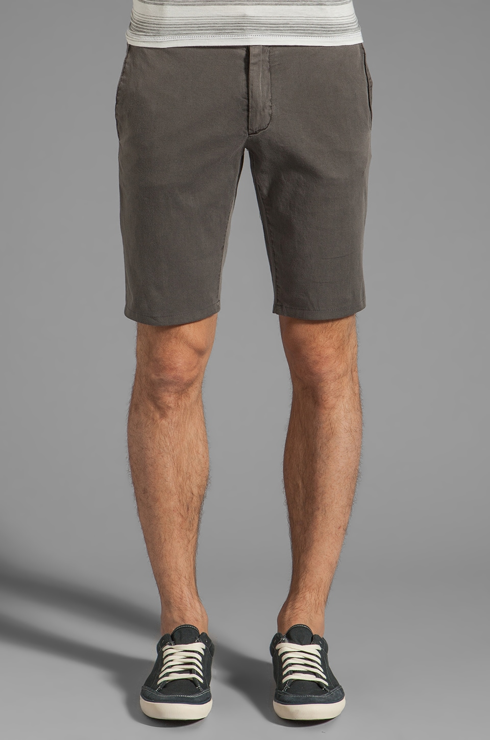 Cohesive & co. Castaway Chino Short in Grey