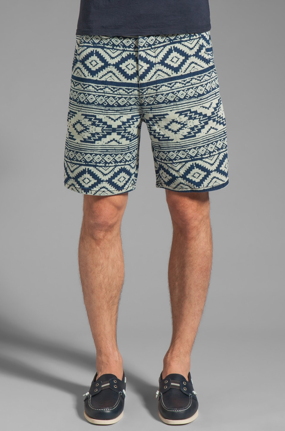 Cohesive & co. Westerly Native Print Short in Navy