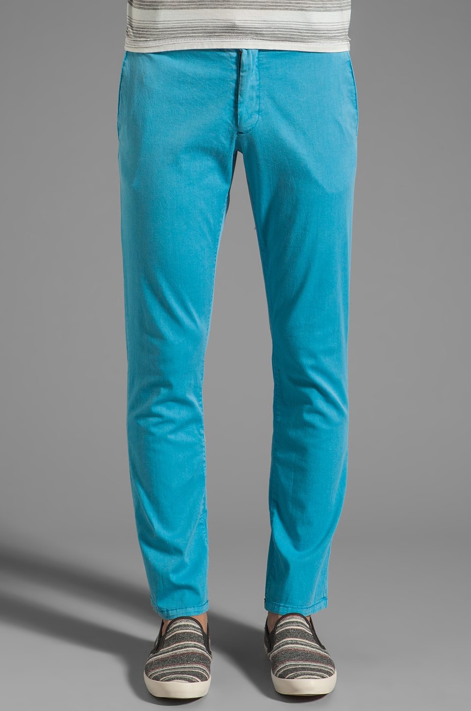 Cohesive & co. Casper Chino Pant in Turquoise