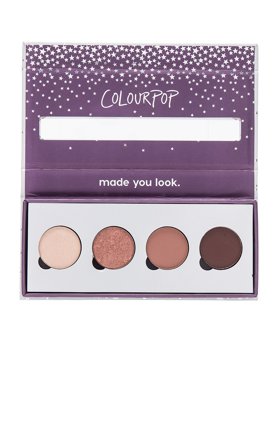 ColourPop x REVOLVE Pressed Powder Shadow Quad in Revelry